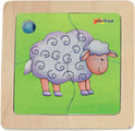 Mini Discovery Puzzel - Schaap