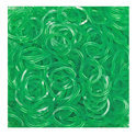 Jelly Loom Bands Groen / Green 300x
