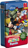 Jumbo Tin Box Puzzel - Mickey Mouse Club House
