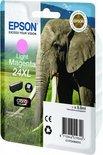Epson 24XL (T2436) - Inktcartridge / Licht Cyaan / Hoge Capaciteit