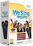 We Sing - Encore + 2 Microfoons