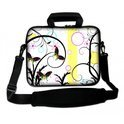 Sleevy 15,6 inch laptoptas vlinder design
