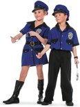 Carnavalskleding Politieagent jongen Police Maat 164
