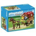 Playmobil Pony met Huifkar - 5228