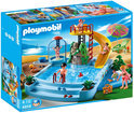 Playmobil Openluchtzwembad Met Glijbaan - 4858