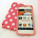 iPod Touch 5 Polka Dot case hoesje - roze