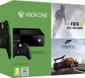Microsoft Xbox One 500GB Console + 1 Wireless Controller + FIFA 15 + Forza 5 - Pre Order Edition - Zwart Xbox One Bundel