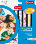 Bruynzeel T-Shirt Markers Set 8 Viltstiften