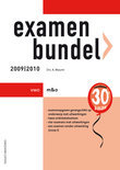 Examenbundel M&O Vwo 2009/2010