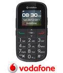 Vodafone 155 Senioren mobiel - Grijs - Vodafone prepaid telefoon