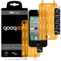 QooQoon silqShield™ Invisible Screen Protector voor Apple iPhone 4 en iPhone 4S - Front en Back met SmartApply