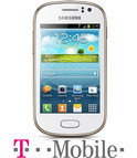 Samsung Galaxy Fame (S6810P) - Wit - T-Mobile prepaid telefoon