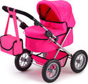Poppenwagen Trendy - Roze