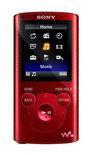 Sony NWZ-E384R - MP4 speler - 8 GB - Rood
