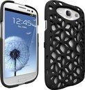 Freshfiber Hard Case Macedonia voor Samsung i9300 Galaxy SIII Zwart