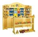 Base Toys Houten Speelgoedwinkel Poppenkast