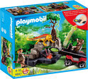 Playmobil Schattenjager Met Kristaldetector - 4847
