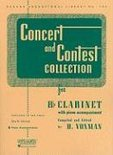 Concert and Contest Collections for Bb Clarinet