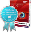ABBYY Finereader 11 Professional - anniversary edition inclusief PDF Transformer