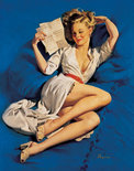Schmidt Puzzel - Gil Elvgren, liefdesbrief