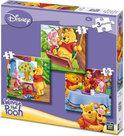 3 in 1 Disney Puzzel Winny The Pooh