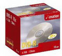Imation DVD-R 120min 4,7Gb 10 stuks in jewelcase