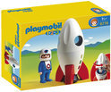 Playmobil Maanraket Met Astronaut - 6776