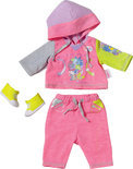 Baby born Jogging Outfit - Roze - Poppenkleding