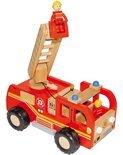 Base Toys Houten Brandweerauto Klein
