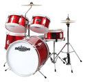 XDrum Xdrum Session Junior Drumset, rood, incl. oefen DVD