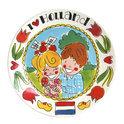Blond Amsterdam I Love Holland Ontbijtbord - Ø 22 cm - 'Molen'