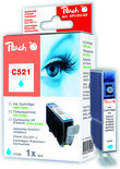 Peach C521 Inktcartridge - Cyaan