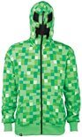 Minecraft - Creeper Premium Zip-up Hoodie - XL