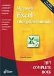 Het Complete Boek: Excel voor professionals