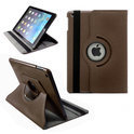 Apple iPad 5 Air Leather 360 Degree Rotating Case Cover Stand Sleep Wake Brown/Bruin