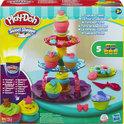 Play-Doh Cupcake Toren
