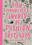My Wonderful World Of Fashion Postcard Book