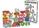 Stapel spel van de kunstenaar Keith Haring