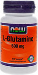 Now L-Glutamine 500 mg Capsules 60 st