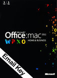 Microsoft Office Microsoft Office Mac Home and Business 2011 - | OEM | Download + Licentie | Installatietaal naar keuze | MAC