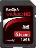 Sandisk Ultra II Video SD kaart 16 GB