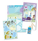Disney Princess & the Frog Magic Sticker Drawing Set