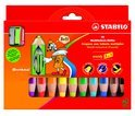 Stabilo Woody 3-In-1 - 10 Pack + Puntenslijper
