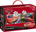 Cars 2 Puzzel 2 in 1 Box