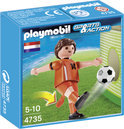 Playmobil Voetbalspeler Nederland - 4735