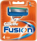 Gillette Fusion - Refillable razor cartridge - 5 blades ( pack of 4 )