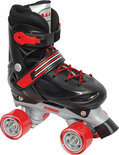 Rolschaatsen 27-30 Zwart/Rood