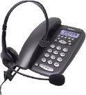 Profoon TX-255 telefoon met headset - Zwart