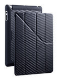 YEN Folio cover voor iPad 2nd, 3rd and 4th gen. Donker Grijs