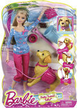 Barbie en Taffy Trainer